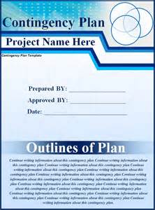 simple contingency plan template plan templates free word s templates