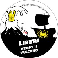spaghetto volante liberi verso il vulcano chiesa pastafariana italiana