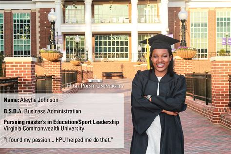 Vcu Mba Cost by Class Of 2016 Profile Aleyha Johnson Pursues Master S At