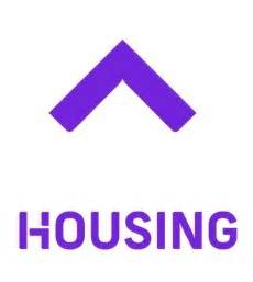Housing Logo by Changing The Mobile Landscape Technuter