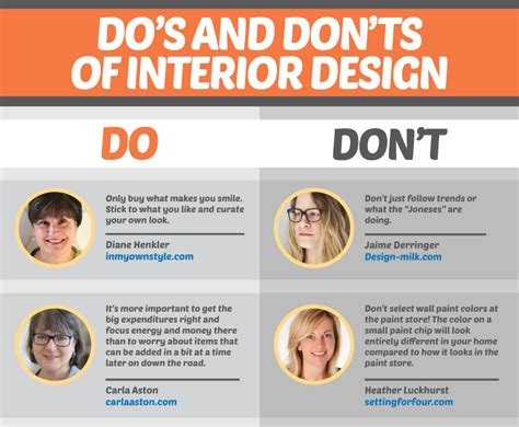 Home Design Do S And Don Ts - 19 stripped essential interior design design 101
