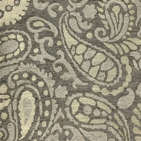 sydney upholstery sydney textured chenille fabric modern paisley