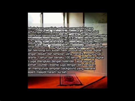 Jadwal Waktu Sholat Masjid Digital Gps Bluetooth Hp Alarm Iqomah 0813 1975 1770 jam masjid digital jam sholat jumat jakarta