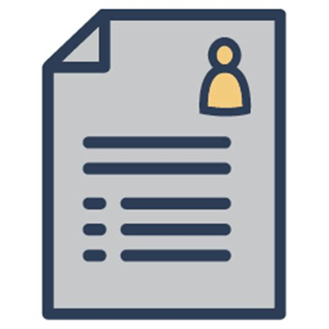 Resume Icons All Events For Resume Writing
