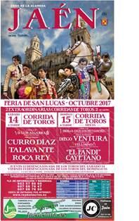Calendario Taurino 2017 Presentaci 243 N Oficial De La Quot Feria De San Lucas 2017