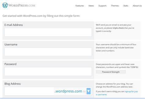 membuat blog free webiihost info membuat blog gratis di wordpress