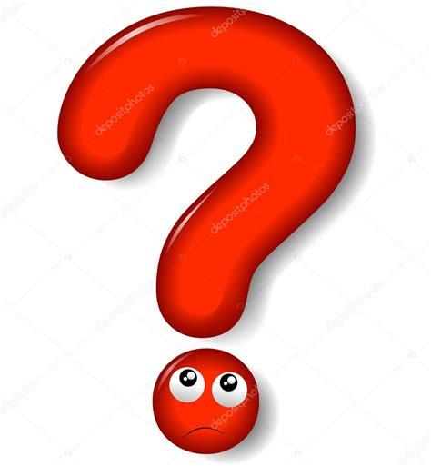 imagenes simbolos de interrogacion signo de interrogaci 243 n rojo vector de stock