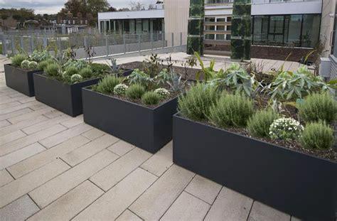 Custom Planter by Custom Fibre Reinforced Cement Frc Planters For