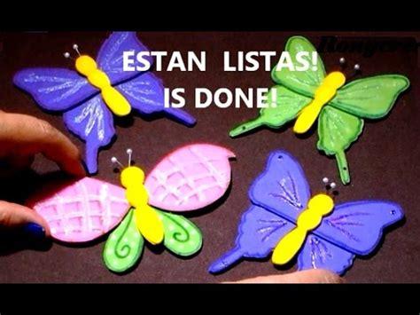 imagenes de mariposas amarillas en foami diy foamy butterflies spring craft c 243 mo hacer