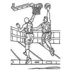 basketball game coloring pages hot air balloon basket coloring pages