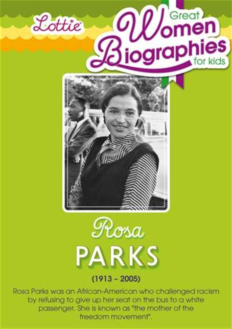 rosa parks biography for students rosa parks biography for kids lottie dolls