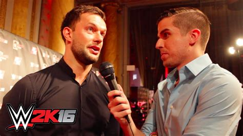 balor finn interview wwe summerslam 2015 finn balor interview wwe 2k16 event