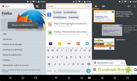 firefox apk version mozilla firefox 41 para android ya disponible apk