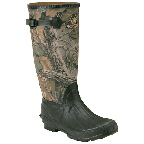 winchester boots pro line 174 winchester series daybreak rubber boots 131948