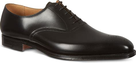 crockett and jones oxford shoes crockett and jones edgeware punched leather oxford shoes