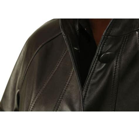 black leather swing coat plus size 24 26 3 4 length black leather swing coat from