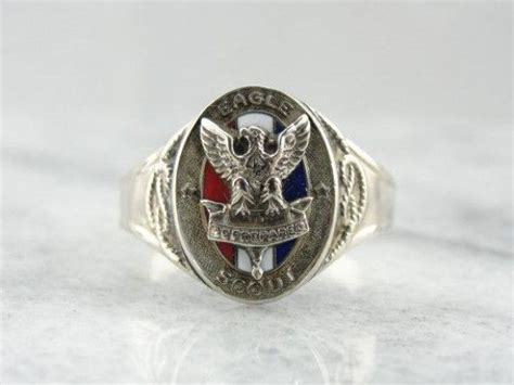 Cincin Eagle Scout Boy Scouts America Ring Band 7 best eagle scout ring images on boy scouting boy scouts and scouting