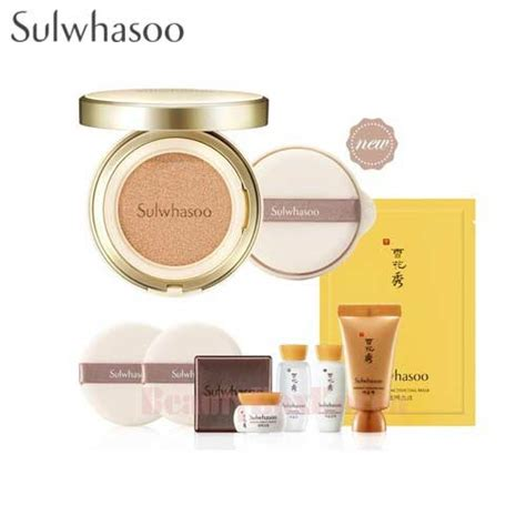 Sulwhasoo Perfecting Cushion Spf50 Pa Shade 21 box korea sulwhasoo perfecting cushion spf50 pa