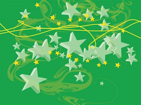 wallpaper green star stars images green stars hd wallpaper and background