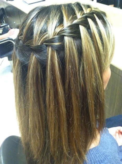 Waterfall Braid Hairstyles by Waterfall Braid Hairstyles Weekly