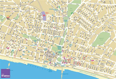 Printable Maps Brighton | large brighton maps for free download high resolution
