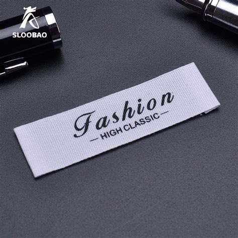 Wardrobe Clothing Label by Garment Accessorie Cotton Clothing Labels Customized