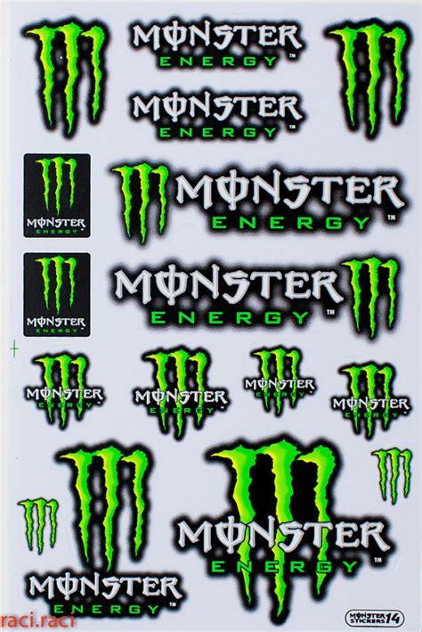 Monster Energy Sticker Design by Monster Energy Sticker Ace Energy