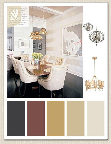 gold cream cranberry  espresso color palette