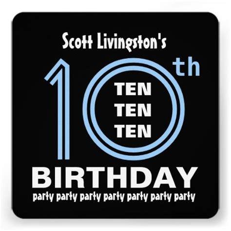 printable birthday invitations for 10 year old boy birthday party invitations free templates drevio
