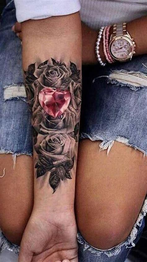black women tattoos pink forearm ideas for black