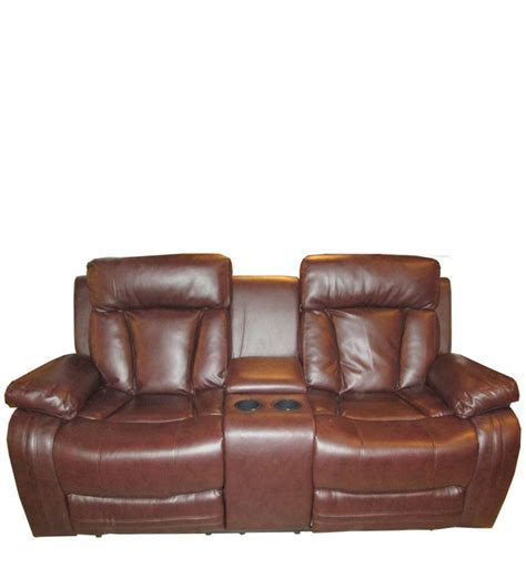 Two Seater Recliner Sofa Magna 2 Seater Recliner Sofa By Evok By Evok Two Seater Furniture Pepperfry Product