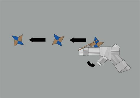 How To Make Paper Guns - how to make a paper gun that shoots 11 steps with pictures