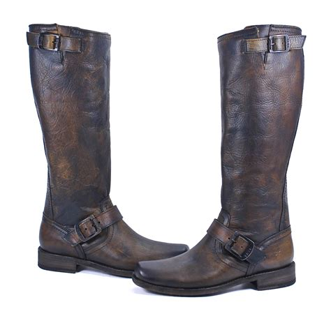 frye smith engineer boots frye smith engineer leather fashion western boot