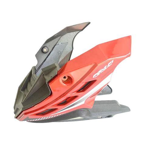 Tutup Mesin Verza Merah Limited jual raja motor aksesoris motor nemo dek mesin honda verza merah dem1061 merah