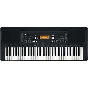 Keyboard E363 yamaha psr e363 61 key portable arranger keyboard black guitar center