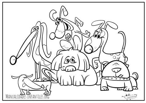 imagenes para colorear un perro dibujos de perros para colorear manualidades infantiles
