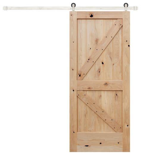 Knotty Alder Interior Doors Sale Unfinished Interior Knotty Alder K Panel V Groove Barn Door Interior Doors By Creative Entryways