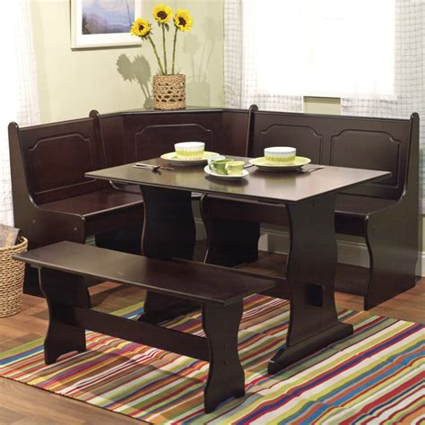 espresso dining bench furniture best dining room table sets and ideas new home