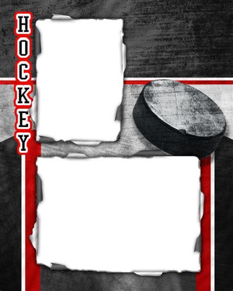 ice hockey photo templates