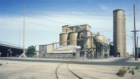 cement factory rick dula fine art paintings urban industry series