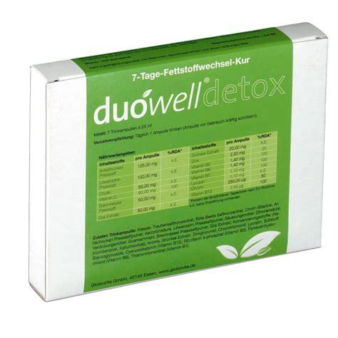 7 Detox Tage by Du 243 Well 174 Detox 7 Tage Detox Kur Shop Apotheke At