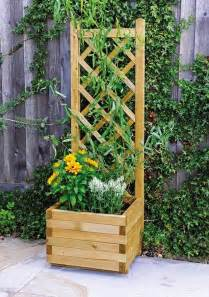 climbing plants stand standing planter outdoor patio