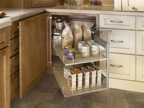 Base Cabinet Kitchen by Blind Corner Cabinet With Full Access Trays Images Frompo