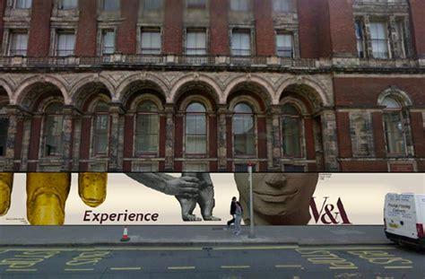hoarding design on behance v a construction hoarding design on behance