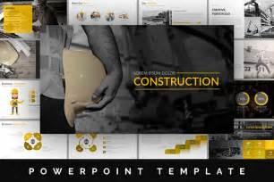 Construction Powerpoint Presentation Templates by Construction Powerpoint Template Presentation Templates