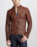 Harga Jaket Versace jaket kulit asli domba murah pria dan wanita