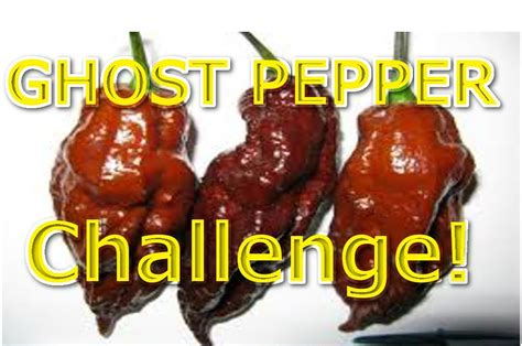 worlds pepper challenge ghost peppers kmacks 25k