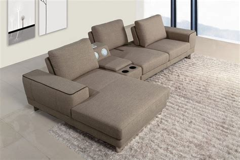 sectional sofa with console the best sectional sofas with consoles