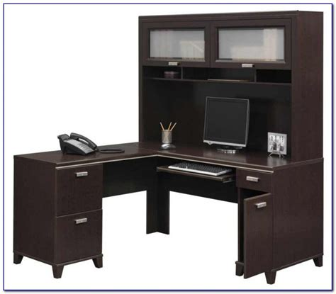 Whitman Office Desk With Hutch White Desk Home Design White Office Desk With Hutch