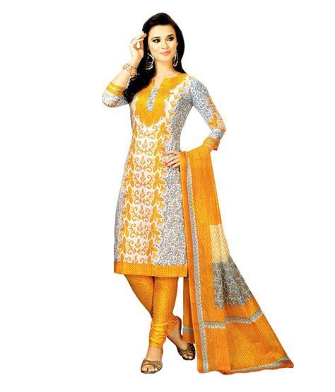 1606 Dress Moin 55 55 on salwar studio white printed cotton dress material on snapdeal paisawapas